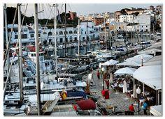 Port de Ciutadella, Menorca.