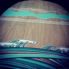 Ocean & mountains #longskate #longskateboard #skate #surfinglife #poscagallery #poscalifecustom #surf #landestyle #montagne