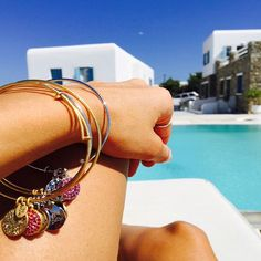 A stack full of sparkle is perfect for summer holidays!