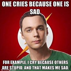 Big bang theory the best show ever. Sheldon is such a great actor. Big Bang Theory, The Big Theory, Sheldon Cooper Quotes, Just For Laughs, Just For You, The Bigbang Theory, College Problems, Funny Quotes, Funny Memes