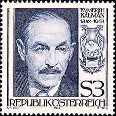 Emmerich Kálmán (24/10/1882 - 30/10/1953)