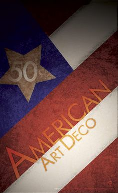 American Art Deco poster.