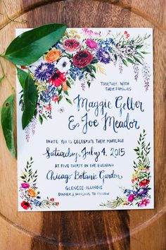 garden wedding invitations 75 fresh ideas for your garden wedding theme 70 Garden Wedding Invitations, Garden Party Wedding, Wedding Stationary, Colorful Wedding Invitations, Garden Wedding Themes, Wedding Bells, Our Wedding, Dream Wedding, Trendy Wedding