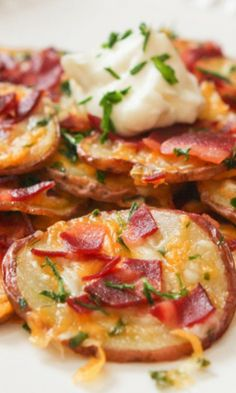 Loaded Baked Potato Rounds Recipe