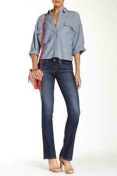 Big Star Sarah Mid Rise Slim Boot Jean