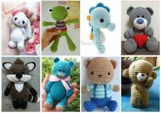In this article amigurumi bear crochet patterns and amigurumi knitting toy images are waiting for you. Everything you're Amigurumi is on this site. Crochet Teddy Bear Pattern Free, Teddy Bear Patterns Free, Crochet Animal Patterns, Crochet Bear, Stuffed Animal Patterns, Crochet Animals, Stuffed Animals, Free Crochet, Crochet Patterns Amigurumi