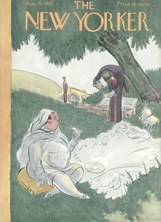 The New Yorker - Saturday, August 20, 1927 - Issue # 131 - Vol. 3 - N° 27 - Cover by : Helen E. Hokinson