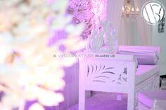 Unique and romantic, our white wedding sofa