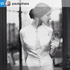 """""""A beautiful #Repost from the super talented photographer @paulaohara. The image is beautiful (the dress is by London based designer @sanyuktashrestha) but…"""""""