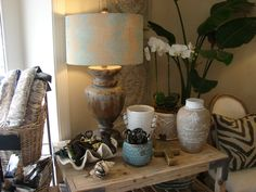 Lamps, jars and orchids are must haves for your home!