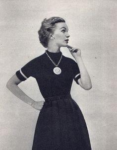 1950s fashion.