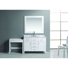 Design Element London 48-inch Single Sink Vanity Set