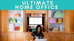 The ULTIMATE HOME OFFICE | 3 Easy DIYs for your Workstation