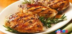 Recipes for Mothers' Day Dinner - Your kids Grilled Chicken Breasts with mayonnaise and ketchup mixture Grilled Chicken Breast Recipes, Grilled Steak Recipes, Grilling Recipes, Healthy Grilling, Pasta Primavera, Fusilli, Antipasto, Chefs, Easy To Digest Foods