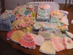 Lots of patterns for preemies, including sleep sacks