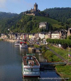 Cochem in Moselle Valley in Germany - part of our European road trip to the land of John's great, great, great grandparents.