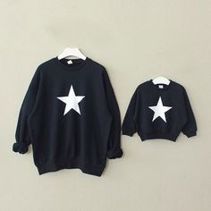 Matching sweaters :)  * Breathable material<br /> * Material: 100% Cotton<br /> * Machine wash, tumble dry<br /> * Imported<br /> <br /> Featuring its cute star print and breathable material, this family matching top is perfect for your family happy time.