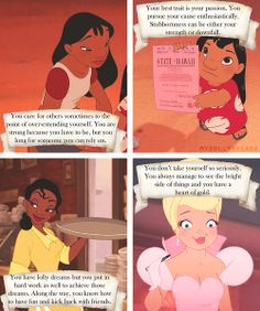 What your favorite Disney female says about you