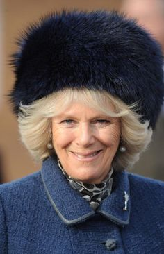 Camilla, Duchess of Cornwall meets members of the Welsh Guards at North Camp on December 2009 in Aldershot, England. Queen Hat, Camilla Duchess Of Cornwall, Royal Uk, Prince Charles And Camilla, Camilla Parker Bowles, Real Princess, Love Hat, Camila, Queen Elizabeth Ii