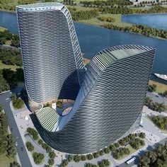 Eco Buildings, Future Buildings, Unusual Buildings, Amazing Buildings, Architecture Building Design, Creative Architecture, Futuristic Architecture, Amazing Architecture, Tower Building