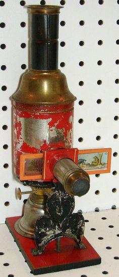 1890s Magic Lantern projector