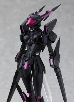 Max Factory Accel World: Black Lotus Figma Action Figure A Max Factory import From the anime series Smooth yet pose able joints Robot Concept Art, Armor Concept, Action Figures Anime, Game Character, Character Design, Manga Anime, Arte Cyberpunk, Arte Robot, Accel World