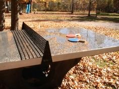Play Ping Pong On Concrete: Henge Tables