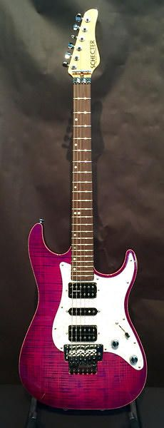 Schecter Sunset Custom Electric Guitar | Reverb