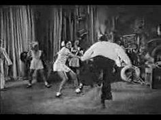 """Hellzapoppin' (1941) choreography by Frankie Manning to """"Jumpin' at the Woodside."""" This is the song that was supposed to be used in the movie, but couldn't be due to copyright."""