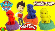 Paw Patrol Adventure Bay Beach Kinetic Sand Playset with Play Doh