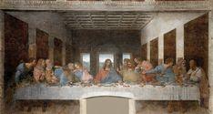 Ultima cena, celebre opera di Leonardo da vinci, Santa Maria delle Grazie, Milano