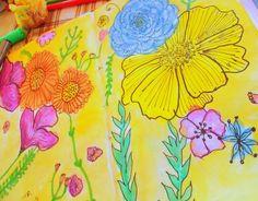Como eu estou no pique para colocar em prática minhas ideias, fazer blog olha o que tem no meu sketchbook NOVO e mais colorido.
