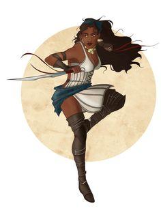 Pirate Queen (Isabela, Dragon Age: Origins) - Zoé Lhomme Eap [ArtStation] Fantasy Series, Fantasy Art, Pirate Queen, Dragon Age, Origins, Elves, Pirates, Ranger, Disney Characters