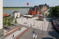 Rheinauhafen Köln. FSWLA Landschaftsarchitektur