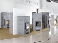 Soapstone fireplaces by Tulikivi at Tammisto. Soapstone, Fireplaces, Studios, Home Decor, Fireplace Set, Fire Places, Decoration Home, Room Decor, Fire Pits