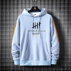 Stylish Hoodies, Cool Hoodies, Mens Designer Shirts, Casual Wear For Men, Yellow Hoodie, Shirt Print Design, Mens Sweatshirts, Sweater Hoodie, Black Side