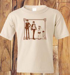Custom Fanmade Katekyo Hitman REBORN! T-Shirt Tee Tshirt