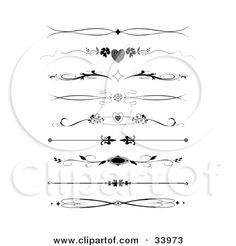 scroll Small Tattoo Designs For Women | ... , Dividers, Banners Or Lower Back Tattoo Designs by C Charley-Franzwa