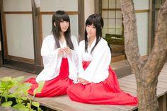 Miko style  巫女装束