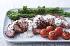 Bifteck sauce crémeuse au poivre - Cette sauce est un délice, à verser aussi sur les légumes !