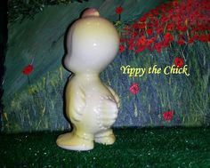 Yippy the Chick's stubby tail