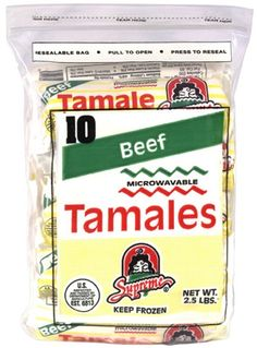 Supreme Beef Tamales since 1950... the Chicago tamale
