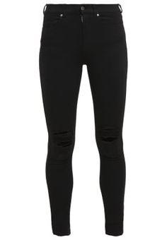 Dr.Denim LEXY - Jeans Skinny Fit - black - Zalando.no