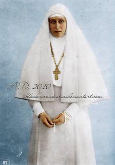 Grand Duchess Elisabeth Fyodorovna Romanova of Russia.