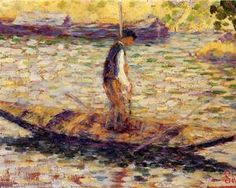 Riverman - Georges Seurat