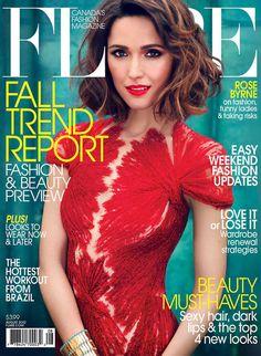 Rose Byrne Flare Magazine cover