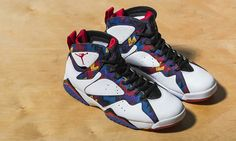 "The Air Jordan 7 ""Nothing But Net"" is Inspired By Michael Jordan's Sweaters"