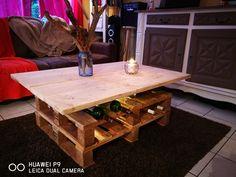 table palettes + planches de coffrage