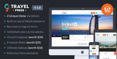 TravelPress - Travel Agency WordPress Theme
