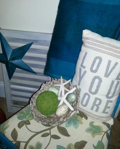 Turquoise...shabby chic♡